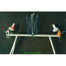Wool winder set with core,hat,clamp,umbrella skein holder for all knitting machine