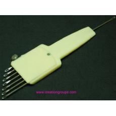 1X7 Needle Adjustable Transfer Tool or Prong Tool for All 4.5mm Knitting Machine - Updated KA084