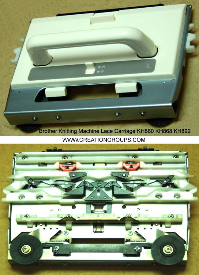 Lace Carriage 417495001 for Brother Knitting Machine KH820 KH830 KH864 KH860 KH868 KH892