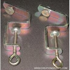 2 Table Clamp 413865001 for KR260 Brother/KnitKing/Creative/Artisan Knitting Machine Ribber (Ribbing Attachment)