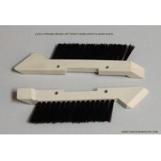 Latch Opening Brush Left/Right for Brother Knitting Machine KH820 to KH970,KH260 KH230