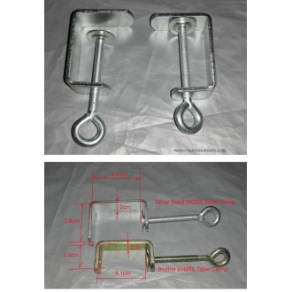 2 New Table Clamp for Silver Reed Studio Singer Knitmaster Artisan Main Bed