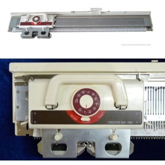 Creative KH160 6mm Mid Gauge Knitting Machine with Built In Intarsia