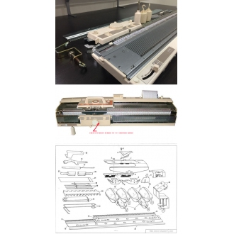 Creative KR838 Ribber Knitting Machine for Brother KH860 KH868 KH900 KH970
