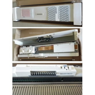 Silver Reed Brand SK155 9mm Bulky Gauge  Knitting Machine